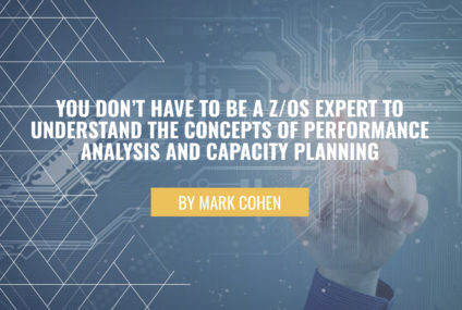 You don't have to be a z/OS expert to understand the concepts of performance analysis and capacity planning